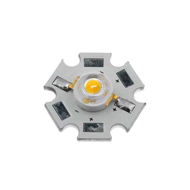 Chip led High Power Epistar 1x3W, Blanco frío
